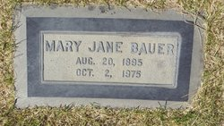 Mary Jane Jennie <i>Grapes</i> Bauer
