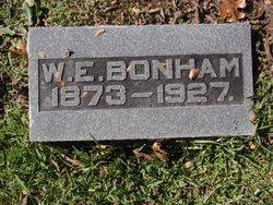 William Edwin Bonham, II