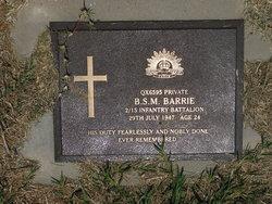 Private Bernard Stanley Michael Barrie