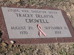 Tracey DeLayne <i>Moore</i> Crowell