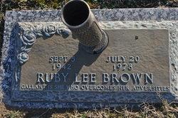 Ruby Lee Brown