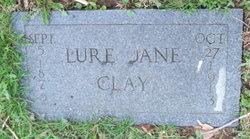 Lure Jane <i>Cook</i> Clay