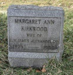 Margaret <i>Kirkwood</i> Alexander