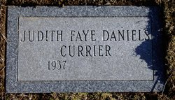 Judith Faye <i>Daniels</i> Currier
