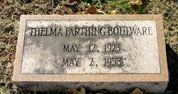 Thelma <i>Farthing</i> Boulware