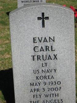 Lieut Evan Carl Ev Truax