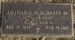 Leonard William Roberts