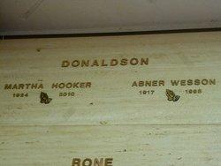 Martha Agnes Billie <i>Hooker Cooper</i> Donaldson