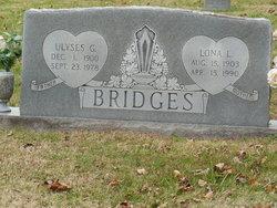 Lona Offie Lonnie <i>Longmire</i> Bridges