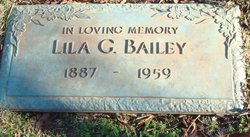 Lila <i>Griffith</i> Bailey