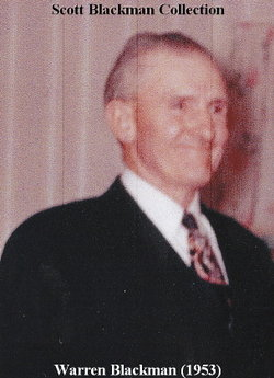 Warren Arthur Blackman