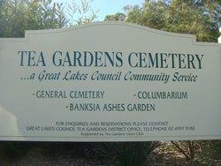 Tea Gardens  Cemetery