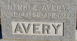 Henry Elmore Henzie Avery