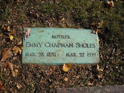 Emmy <i>Chapman</i> Sholes