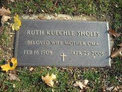 Ruth <i>Kuechle</i> Sholes