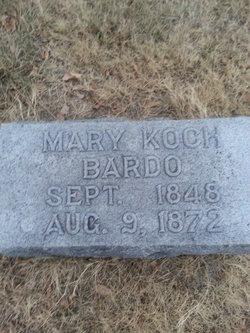Mary <i>Koch</i> Bardo