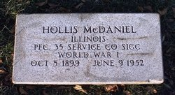 Dr Hollis McDaniel