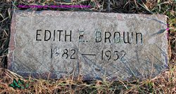Edith M. <i>Irons</i> Brown