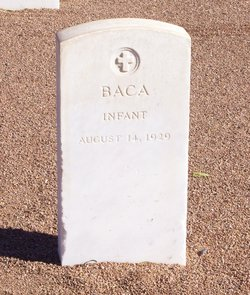 Infant Son of Florentino Baca