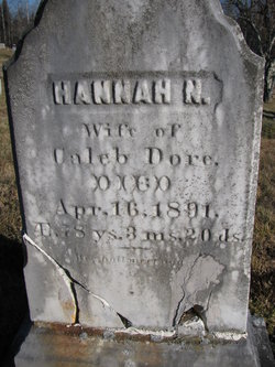 Hannah N <i>Morrill</i> Dore