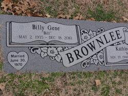 Billy Gene Brownlee