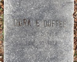Dora E <i>Wright</i> Duffee