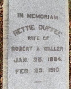 Nettie <i>Duffee</i> Waller