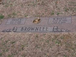 Minnie Myrtle <i>Stone</i> Brownlee