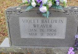 Eleanor Violet <i>Baldwin</i> Weaver
