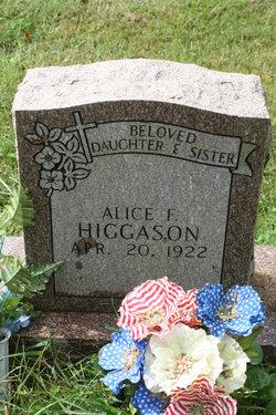 Alice Sis Higgason