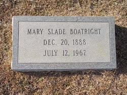 Mary Karen <i>Slade</i> Boatright