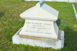 Mary Catherine Kate <i>Flannery</i> Semmes