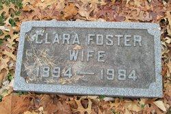 Clara <i>Oliver</i> Foster