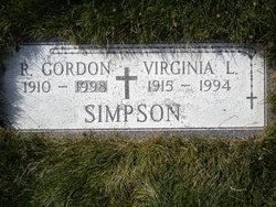 Virginia Lucy <i>Schaaf</i> Simpson