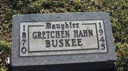 Gretchen <i>Hahn</i> Buskee