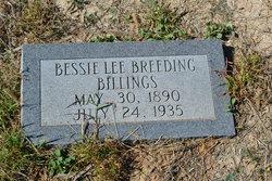 Bessie Lee <i>Breeding</i> Billings