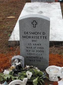 PFC Desmond Morrisette