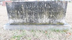 Tennessee <i>Morris</i> Anderson