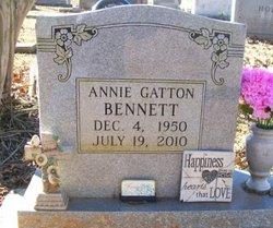 Mrs Annie Yvonne <i>Gatton</i> Bennett