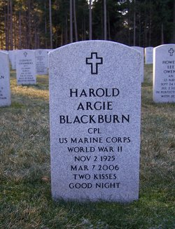 Harold Argus Blackburn