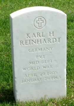 Karl H Reinhardt