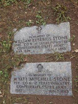 Sgt William Eusebius Stone