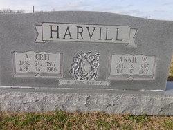 Annie <i>Way</i> Harvill
