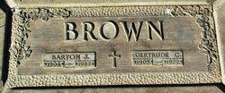 Barton J Brown