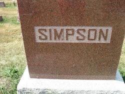 Mary Francis <i>Alexander</i> Simpson