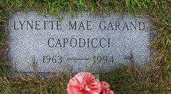 Lynette Mae <i>Garand</i> Capodicci