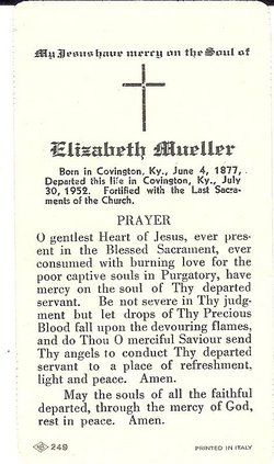 Elizabeth <i>Wiehoff</i> Mueller
