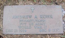 Andrew Alvin Kohr
