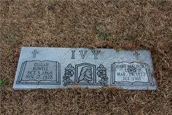 Mary Malinda <i>lewis</i> Ivy