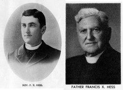 Rev Francis Xavier Hess